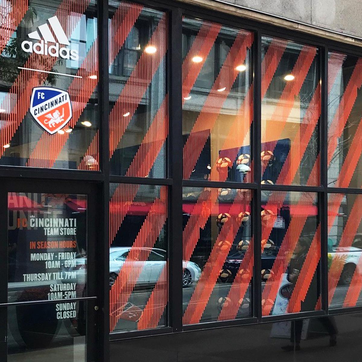 adidas / FC Cincinnati Team Shop Rebrand