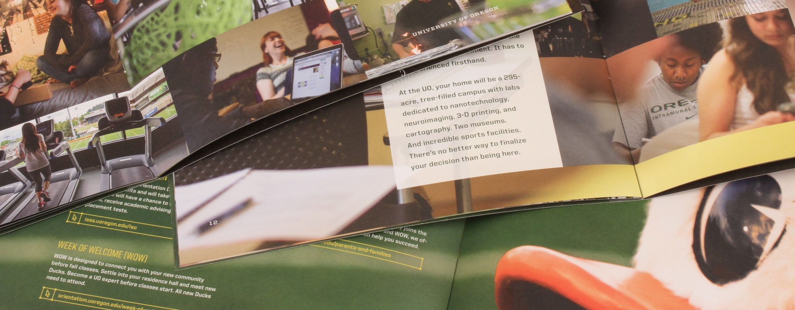 Digital Printing U of O brochures