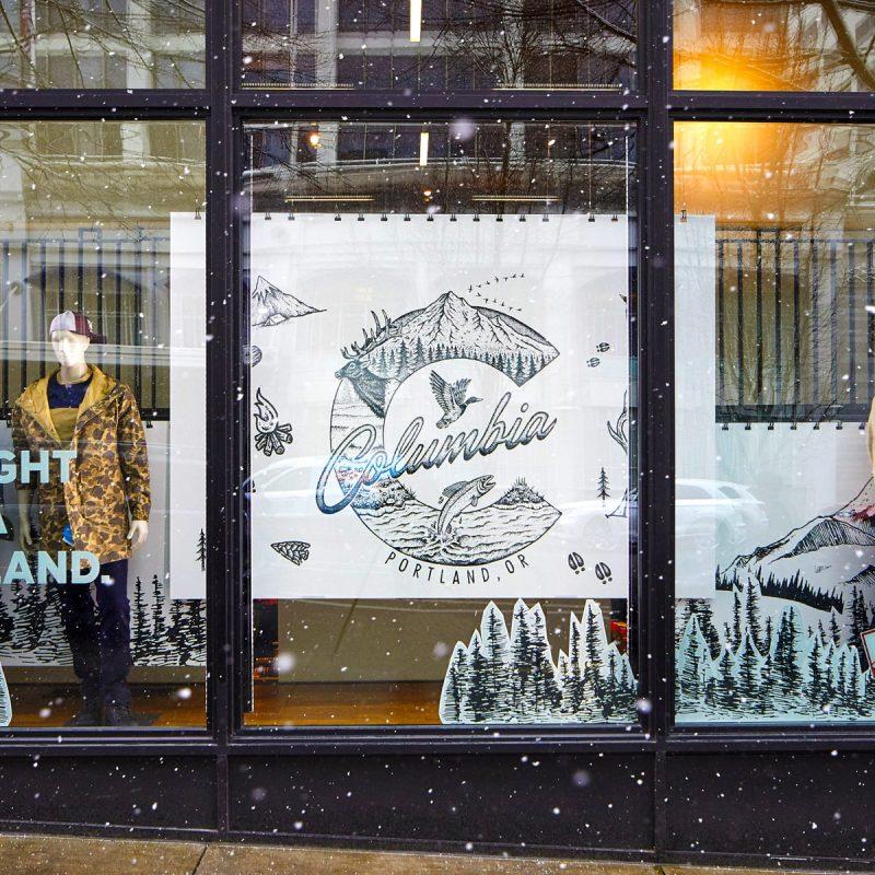 Columbia Sportswear Retail Campaign