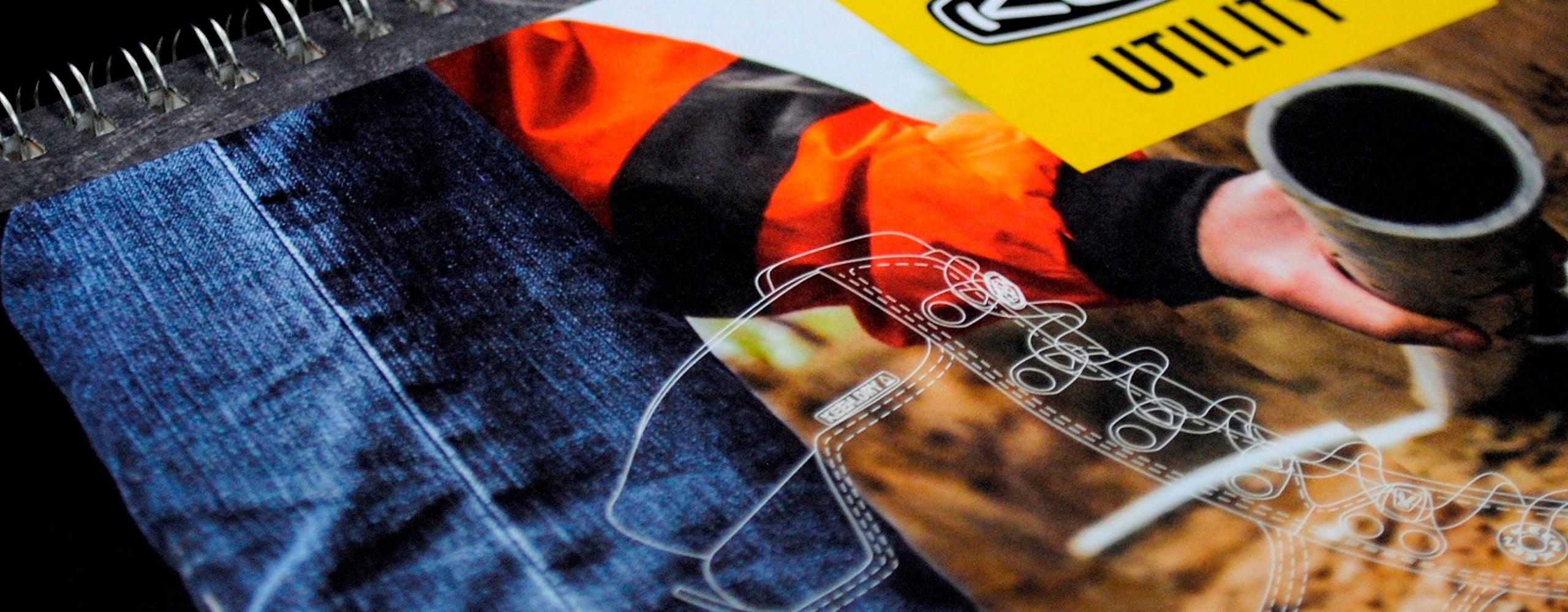 Banner for Keen Catalogue marketing materials