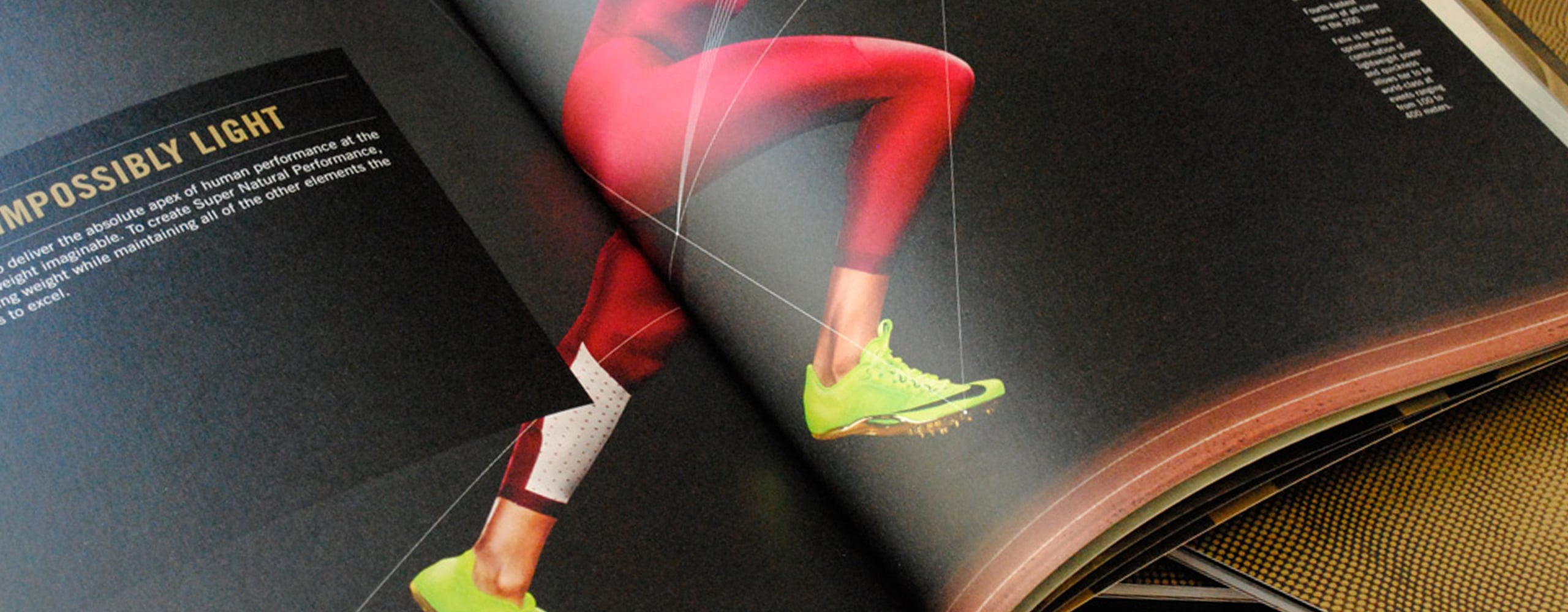 Banner for Nike Super Natural Design Principles Catalogue