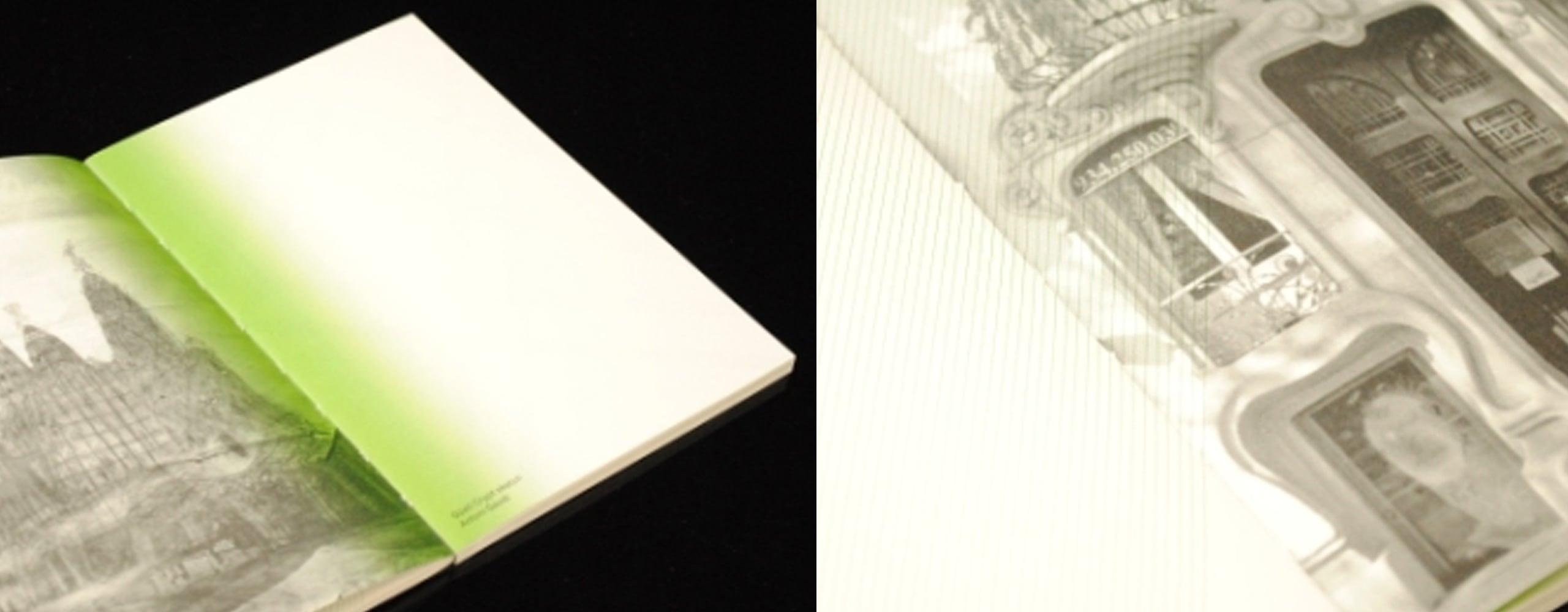 Nike Woven Notebook marketing materials details