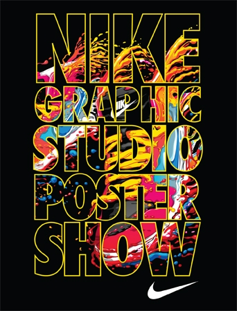 16cfbac5892564 Nike Graphic Studio Poster Show-Raising Funds for CHAPS - Portland ...