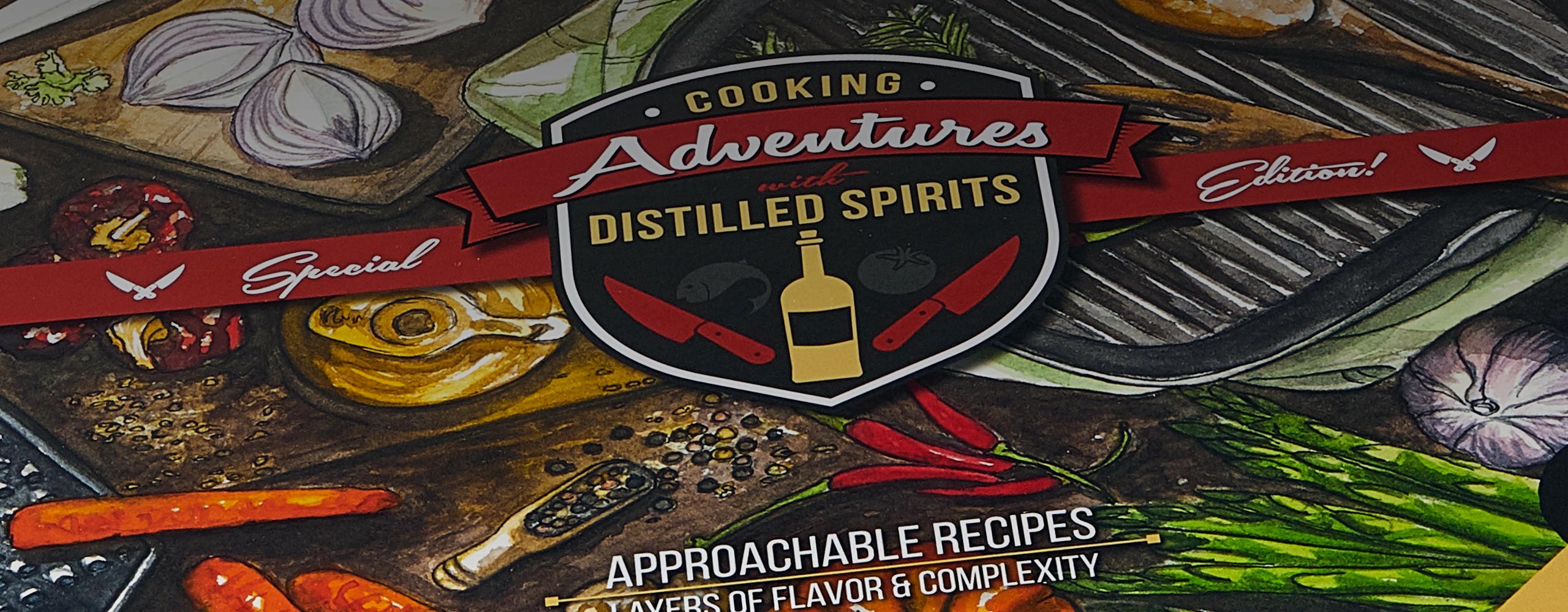 award winning butter & bacon distilled spirits recipe book