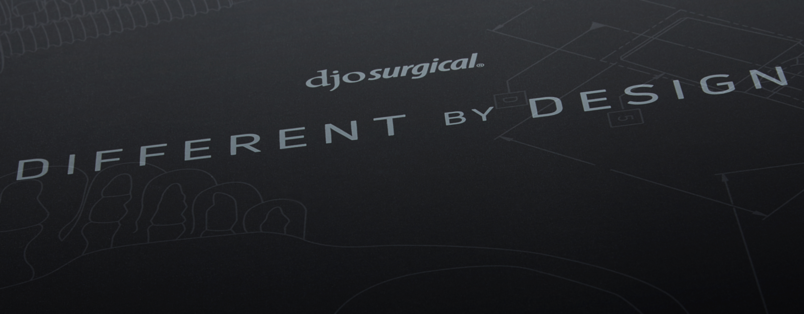 Creative design for DJO Surgical packaging