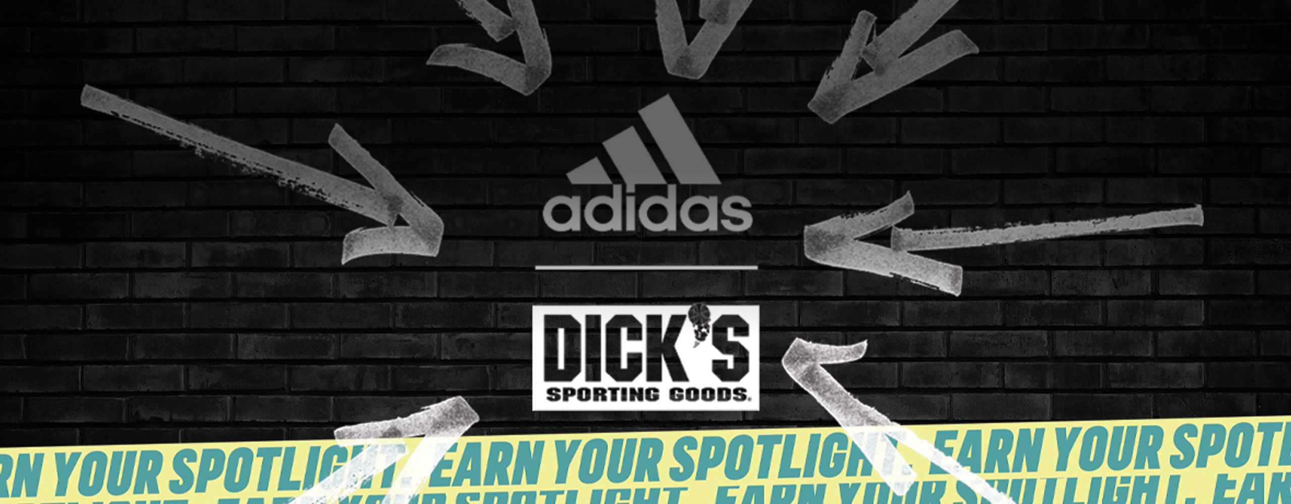 Adidas and Dick's Sporting Goods Earn Your Spotlight Production Banner