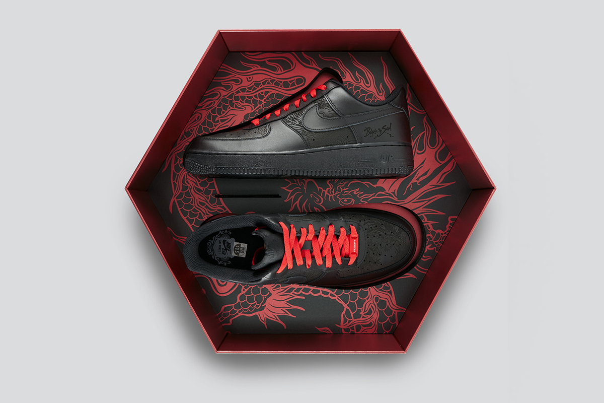 Blade and Soul Box Nike shoes