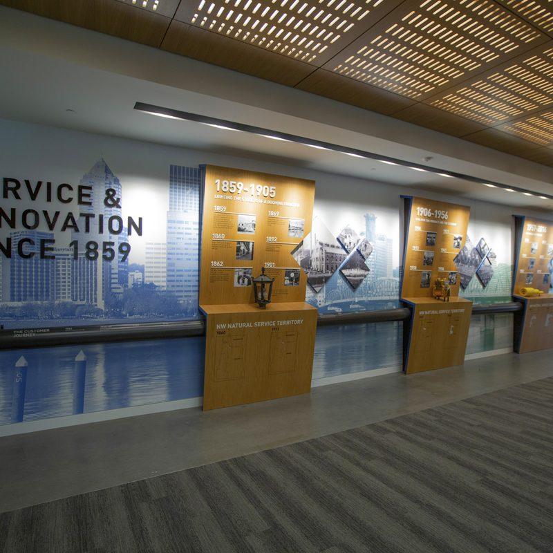 NW Natural HQ Environment Graphics